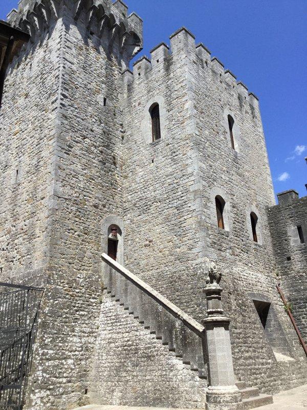 Castle in Chianti region