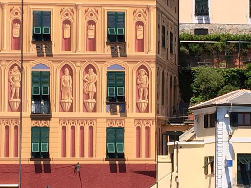 Beautiful buildings Portofino