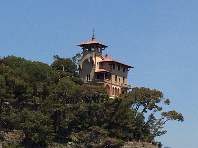 Restaurant on the hill Portofino