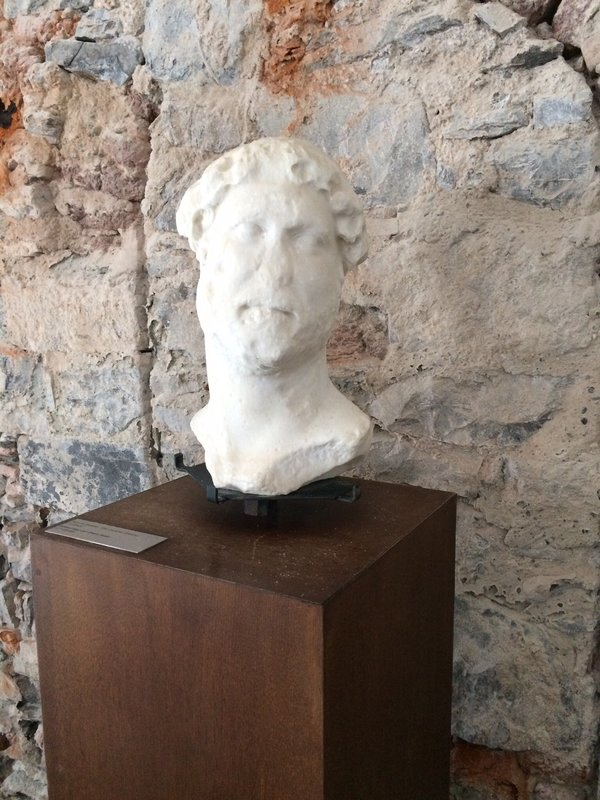 Marble bust dates back to 12 bc