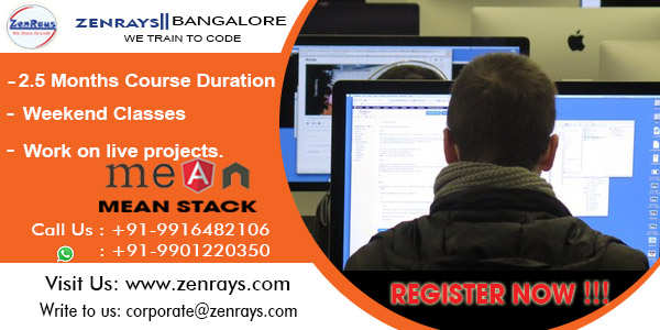 Mean stack training bangalore