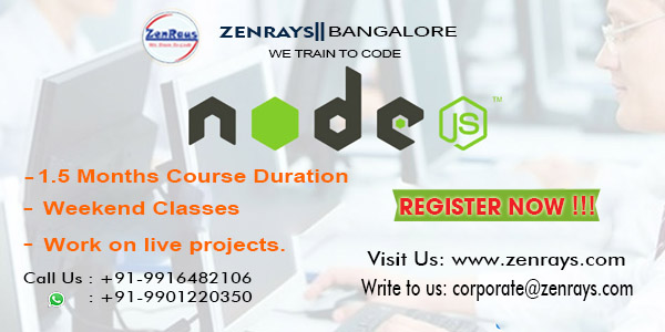 Node js training bangalore