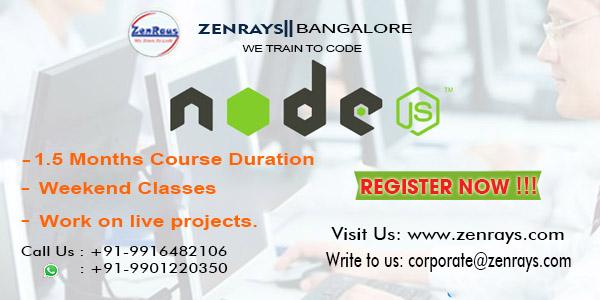 Node js training bangalore