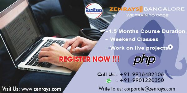 PHP training bangalore