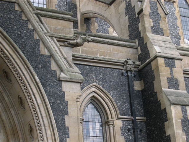 Gargoyles at Southwark Cathedral