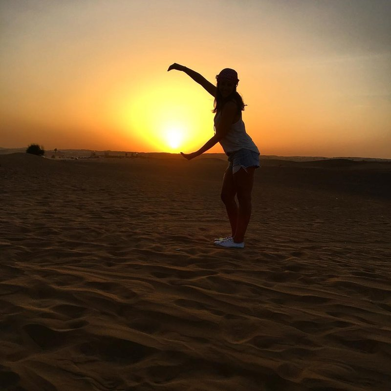 dubai sunset desert safari with bbq dinner