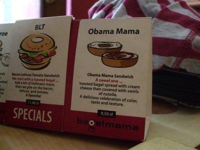 obama mama bagel