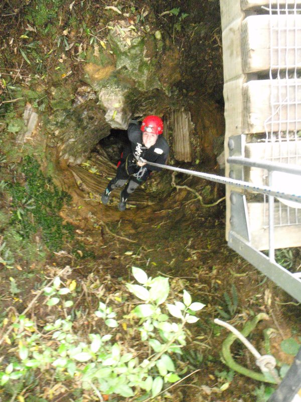 Waitomo: Abseil of Doom