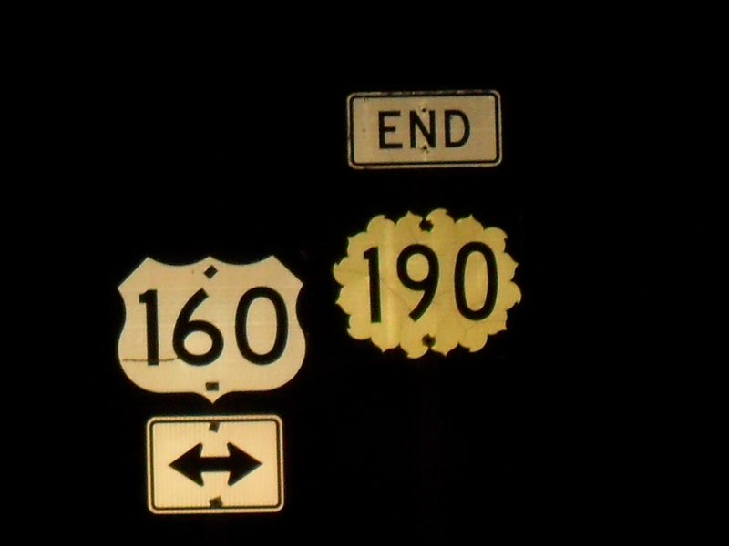 The end shield of K-190 at US-160
