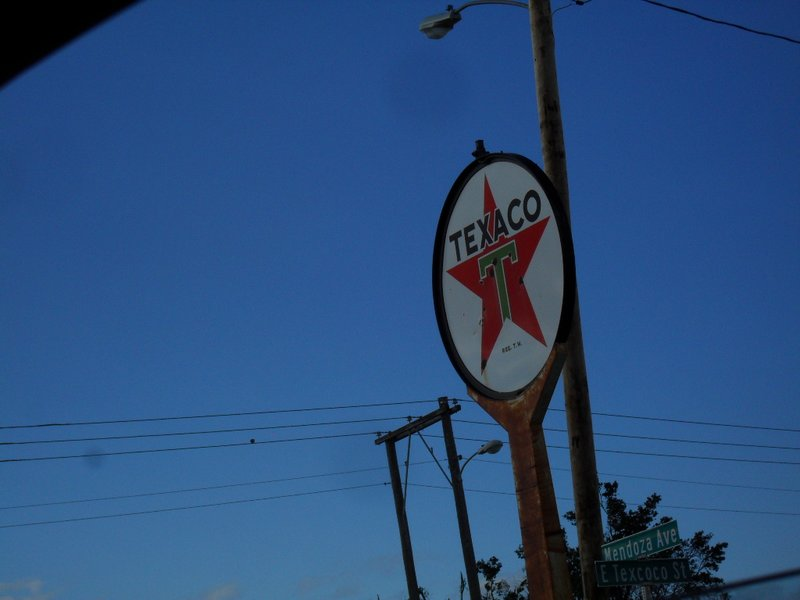 "Seventh and last shot of the ""sign collection"" in Montezuma"