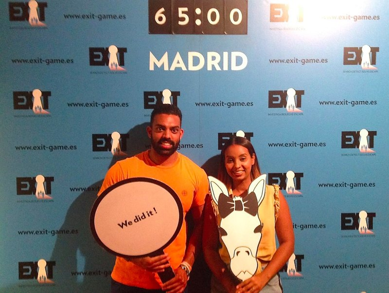 EXIT (Escape Room), Madrid