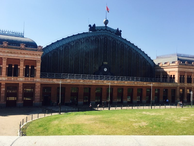 Atocha Train Station, Madrid