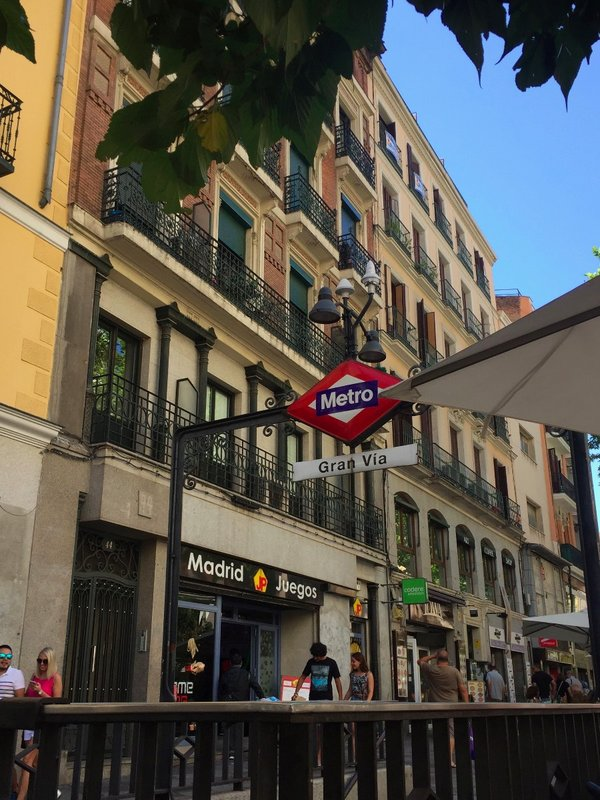 Gran Via Station, Madrid