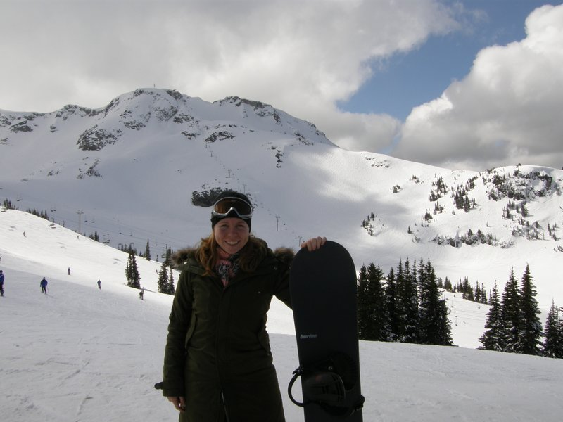 Snowboarding Whistler