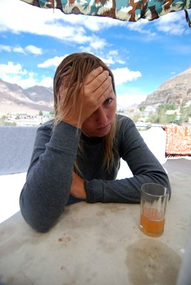 Altitude sickness in Kaza
