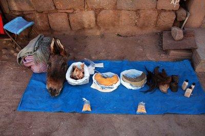 Donkey fat stall