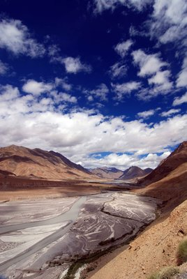 View of Spiti valley