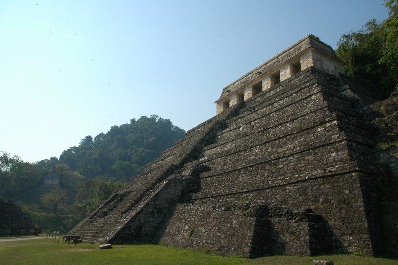 Palenque temple