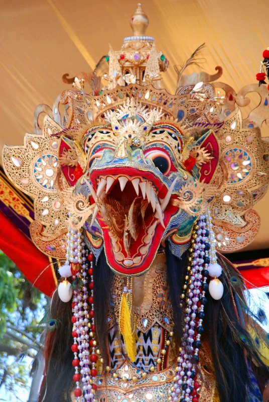 Elaborately decorated dragon