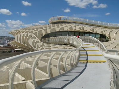 Walkway through top of Metropol Parasol