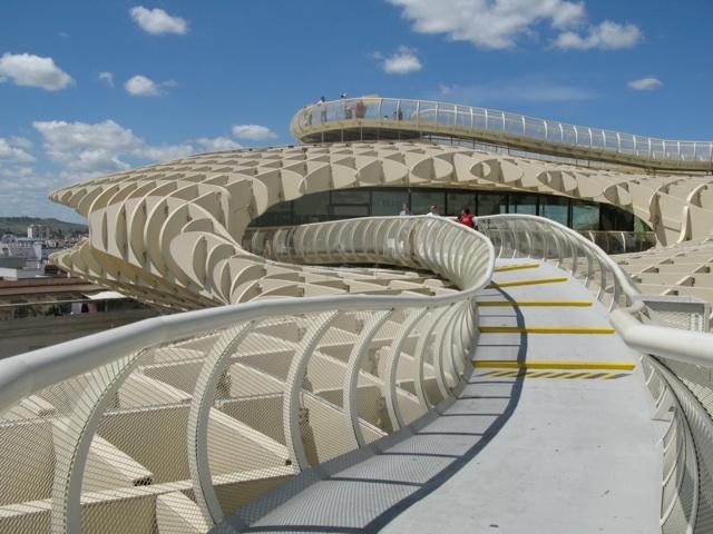 Walkway through top of Metropol Parasol