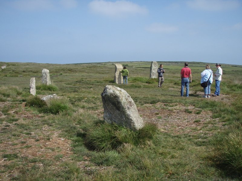 Cornwall - A Stone Circle near St Ives