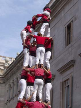 castellers red