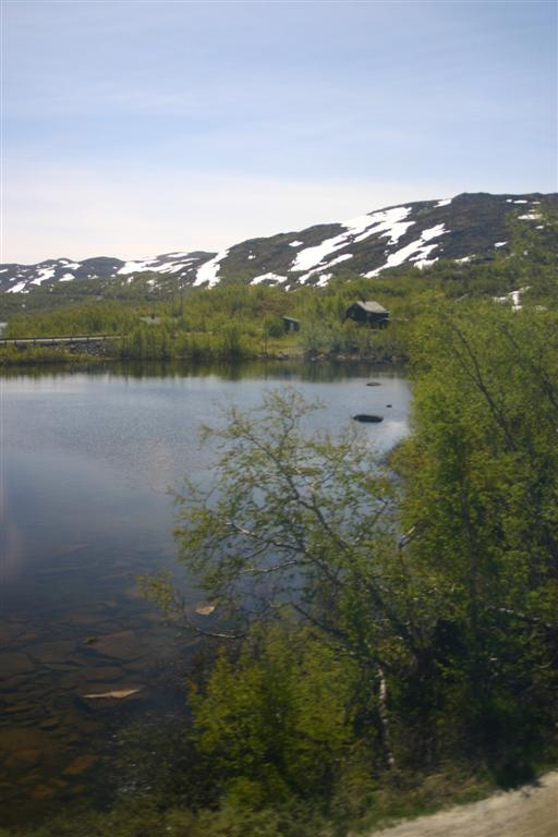 Lake up high on the way to Myrdal