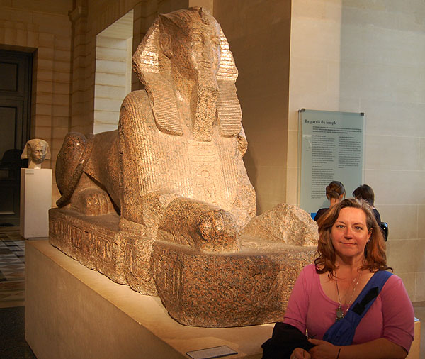 Louvre, Cindy and The Sphinx 2