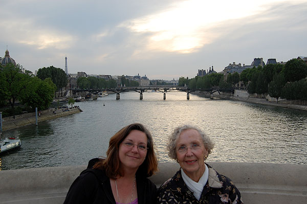 Night Boat Ride: Seine Sunset 2