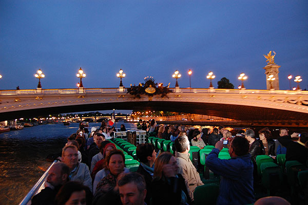 Night Boat Ride
