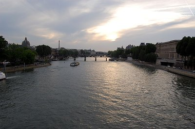 Night Boat Ride: Seine Sunset
