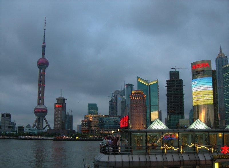 Pudong River Skyline, Shanghai