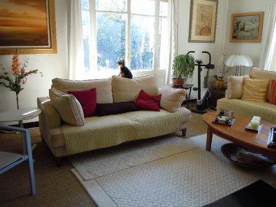 Villa L'Ecrin living room