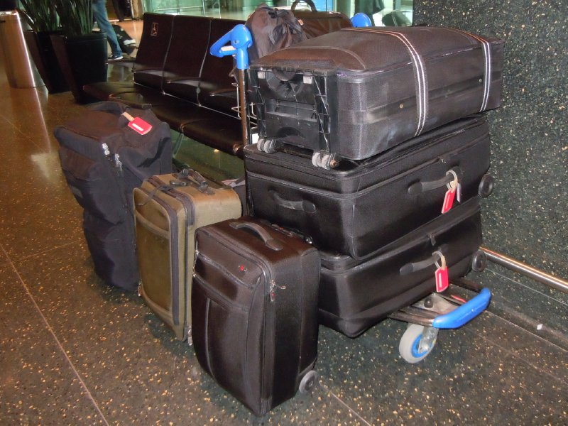 Lots of luggage!