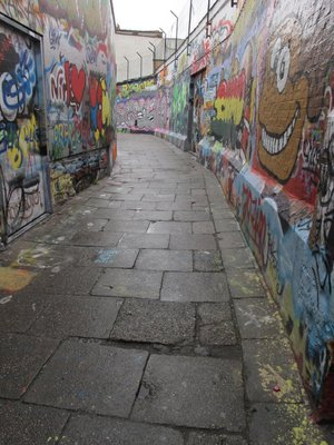 Graffiti alley, Ghent