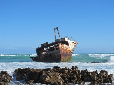Shipwreck, Cape Agulhas