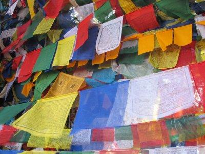 Prayer flags, Lumbini