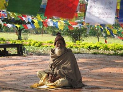 Religious man, Lumbini