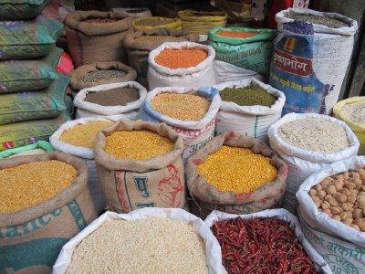 Market stall, Kathmandu