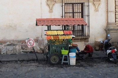 Street life, Antigua