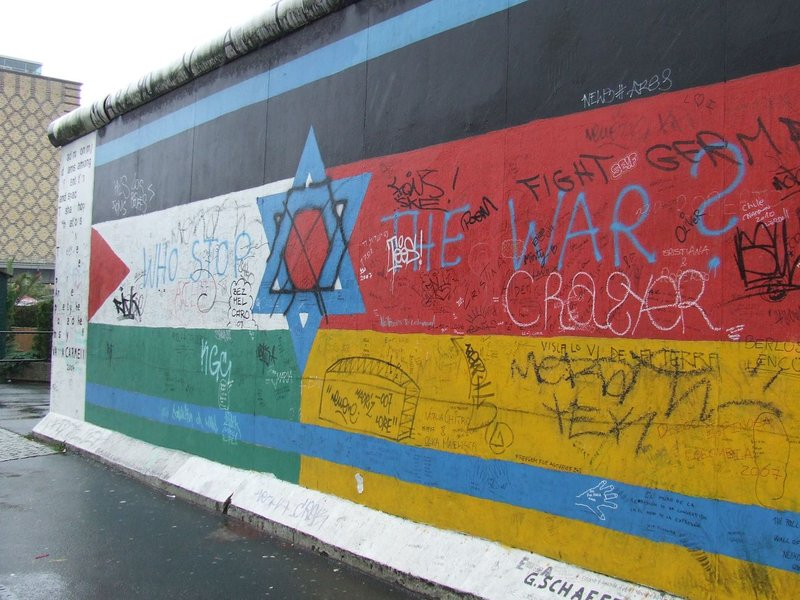 Graffiti, Berlin Wall