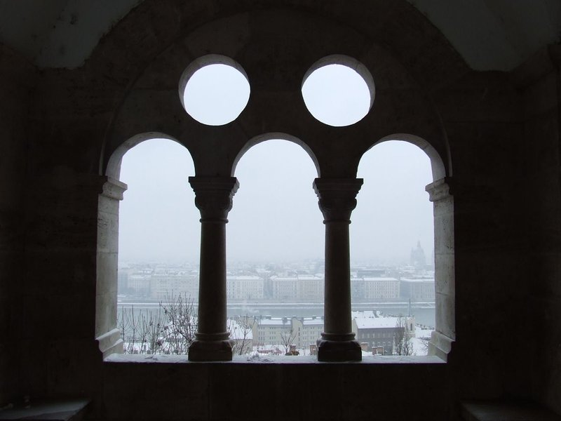 View over the Danube from Fisherman's Bastion