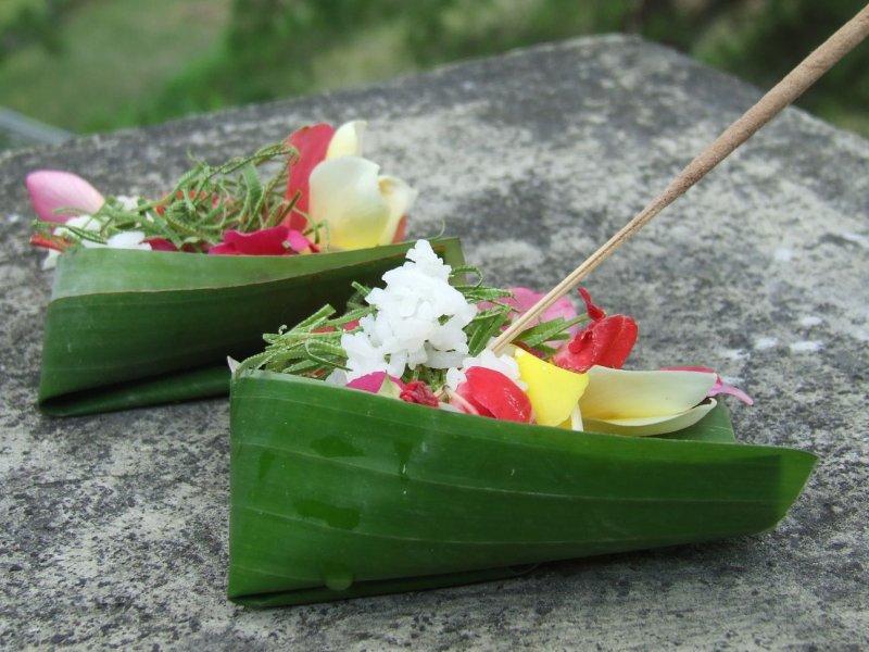 Hindu offerings, Bali