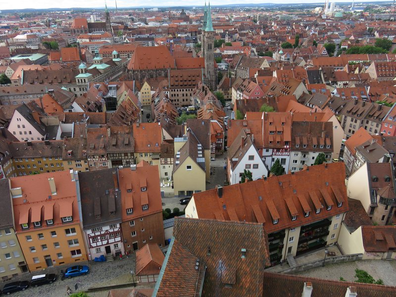 View from the castle, Nuremberg