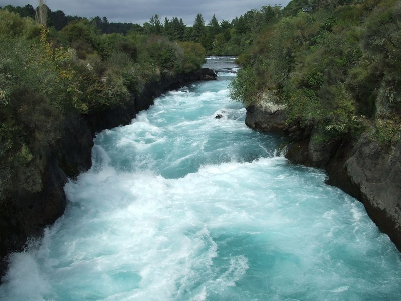 Huka falls, Taupo