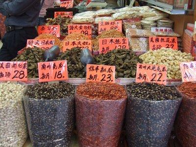 Market stall, Mongkok