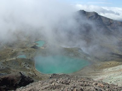 Thermal Lakes, Tongariro Crossing