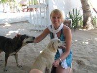 Isla Mujeres straathonden