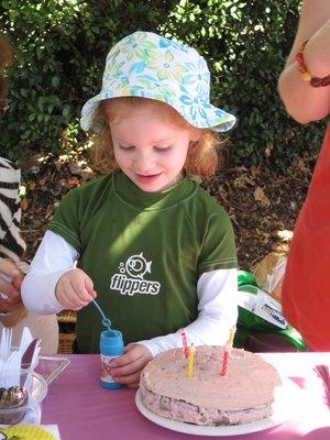 Elenis 4th Brisbane birthday cake